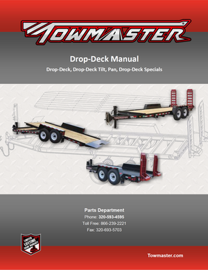 TMDDManual_Cover_tn trailer manuals towmaster trailers towmaster trailer wiring diagram at eliteediting.co