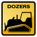 Construction Icon Dozer
