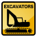 Construction Icon Excavator