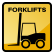 Construction Icon Forklift