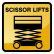 Construction Icon Scissor-Lift