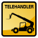 Construction Icon Telehandler