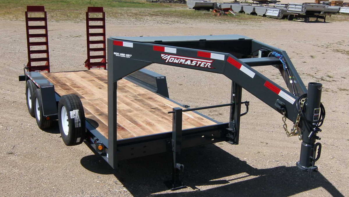 A Frame Gooseneck Towmaster Trailers