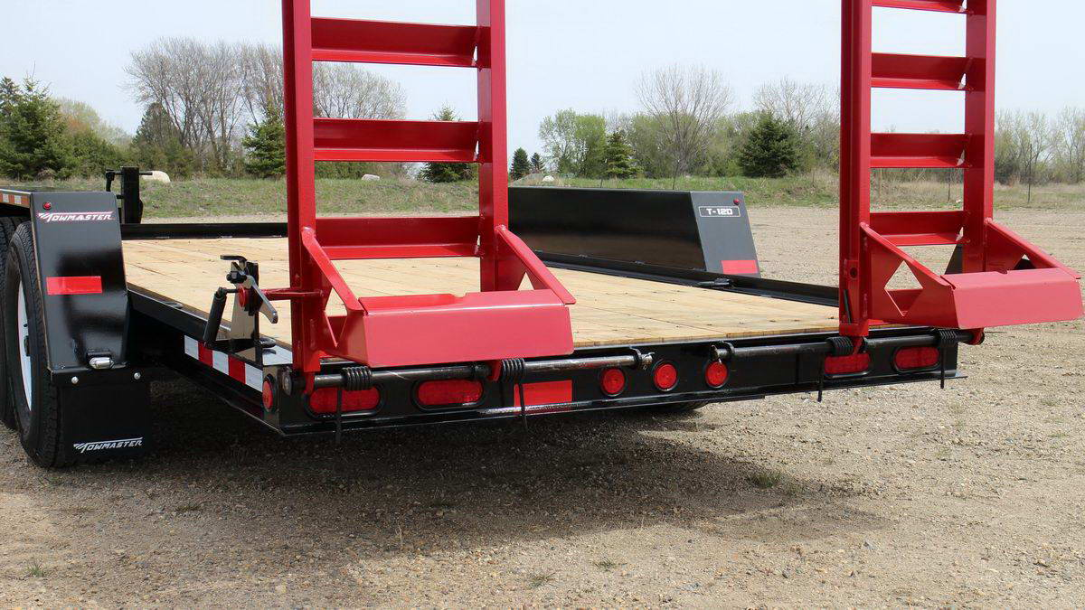 T 9d 10d 12d Towmaster Trailers Skid Steer On Utility Trailer Wiring And Lights Repair