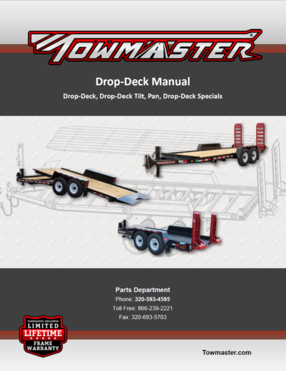 Trailer Manuals – Towmaster Trailers
