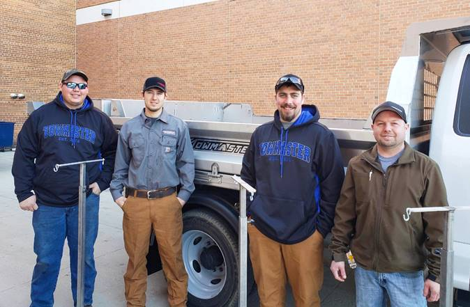 Towmaster Team Pivots to Create Emergency Equipment for Local Hospital
