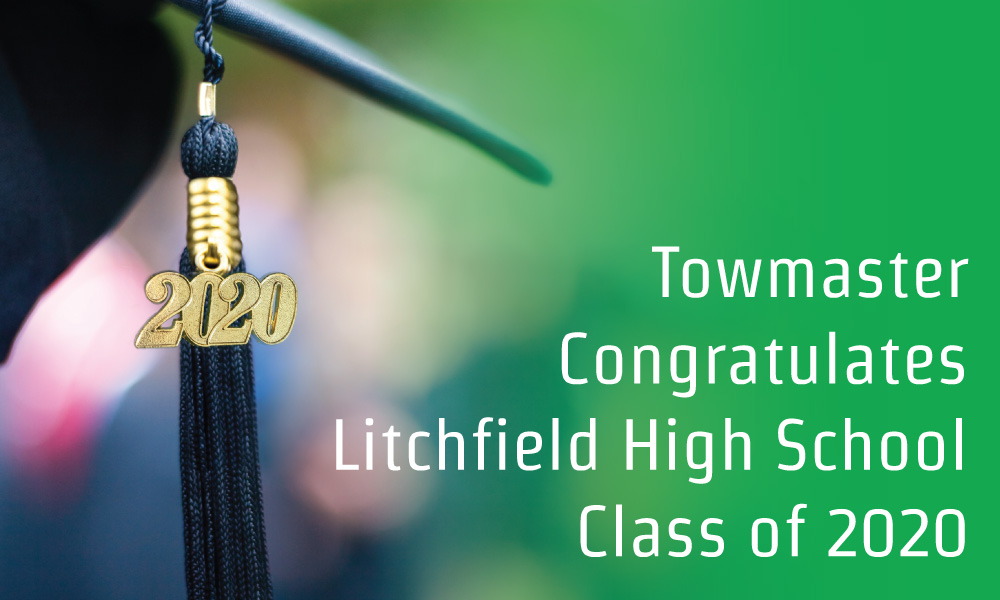Towmaster Supports Litchfield High School Graduates